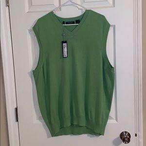 Bobby Jones Pima Cotton Sweater Vest, NWT